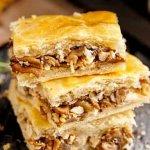 рецепт пирога с грибами из слоеного теста