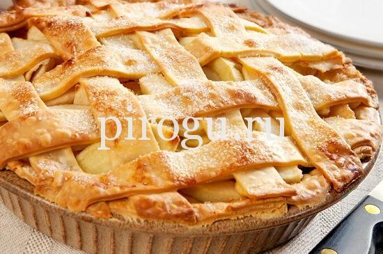 пирожки из песочного теста с яблоками рецепт
