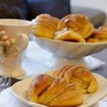 рецепт дрожжевых булочек с яблоками