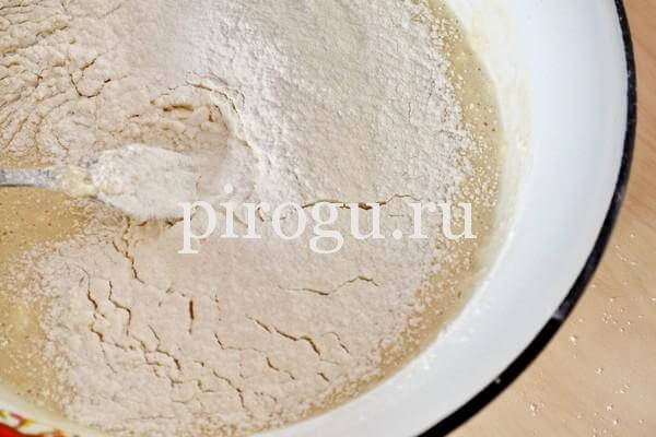 Дрожжевое тесто для хачапури по-аджарски