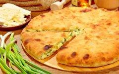 рецепт осетинского пирога с творогом и зеленью