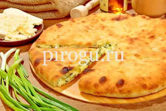 Настоящий осетинский пирог - пошаговый рецепт с фото на 86