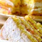 Простой и вкусный, пышный бисквит для тортов
