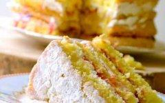 рецепт классического бисквита
