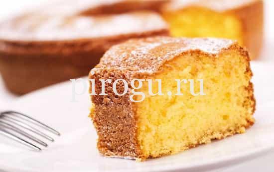 рецепт бисквита на сметане