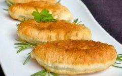 рецепт жареных пирожков на кефире с картошкой