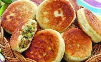 рецепт пирожков из картофельного пюре