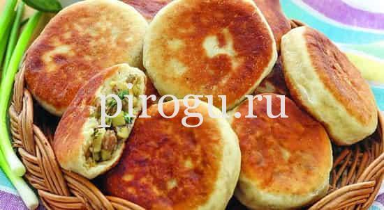 Рецепт пирожков из картошки