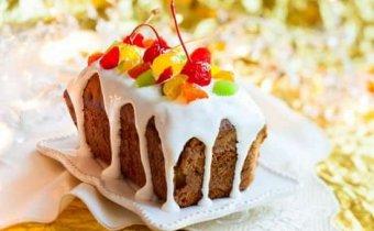 Кекс на кефире с цукатами и изюмом в хлебопечке