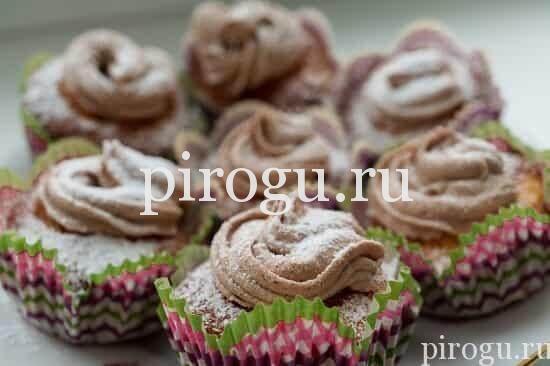 рецепт кексов со сгущенкой