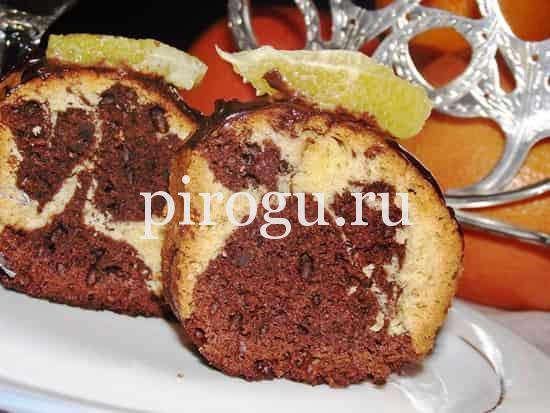 рецепт мраморного кекса