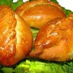 Пирожки с картофелем и капустой в духовке