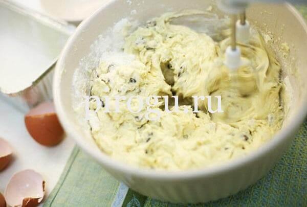 Кекс Столичный с изюмом - самый простой и вкусный рецепт