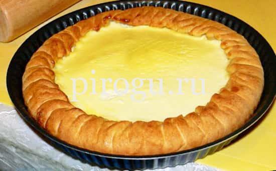 Пирог татарский сметанник рецепт с пошагово