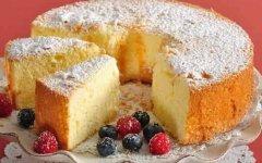 рецепт вкусного бисквита