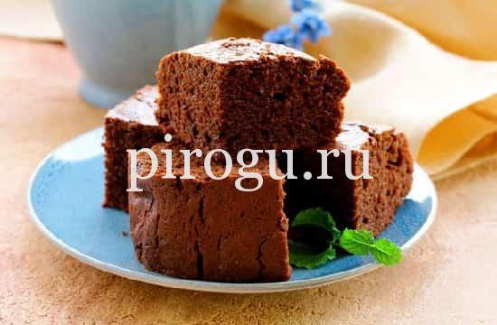 рецепт шоколадного манника без муки