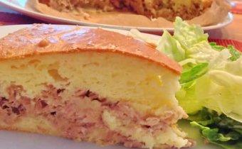 рецепт рыбного пирога с сайрой