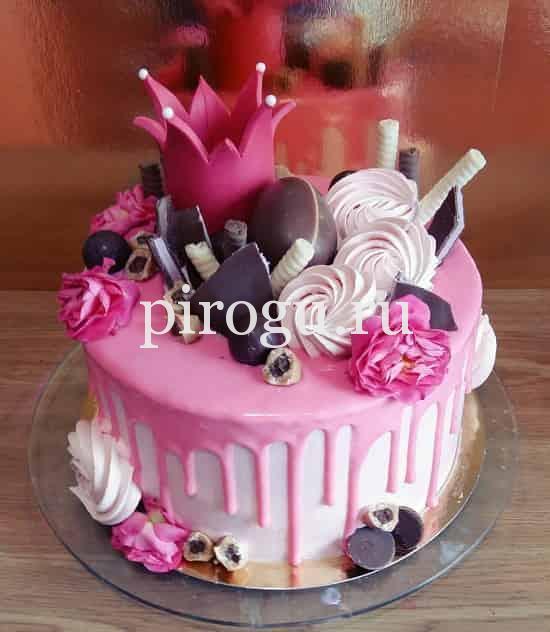 красивый торт из мастики