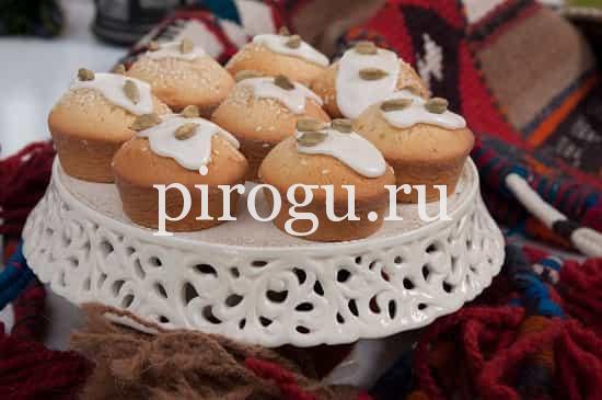 Творожный кекс