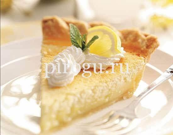Лимонный пирог рецепт в духовке