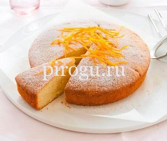 рецепт манника на кефире с маргарином в духовке