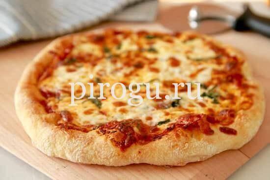 рецепт теста для пиццы в духовке на протвине