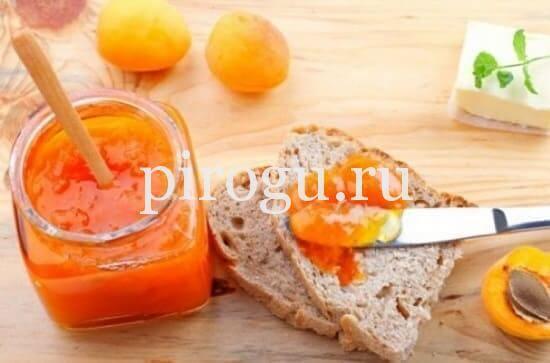 Рецепт варенья из абрикосов с лимоном