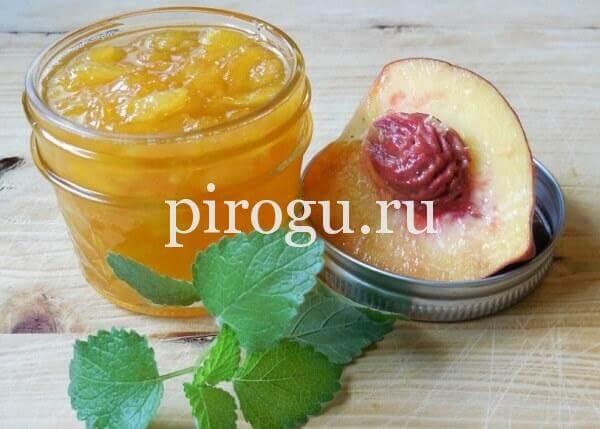 Персиковое варенье на зиму