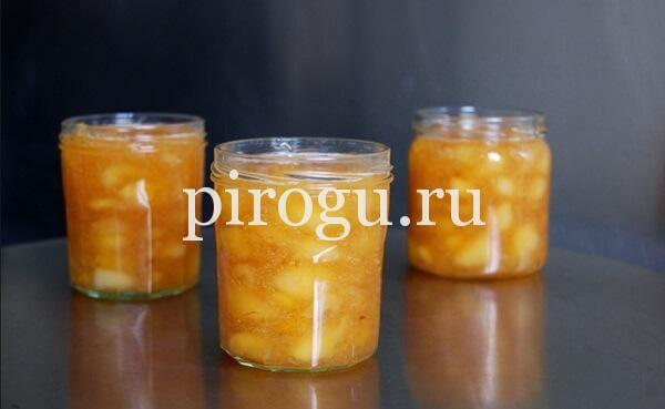 Варенье из персиков дольками на зиму