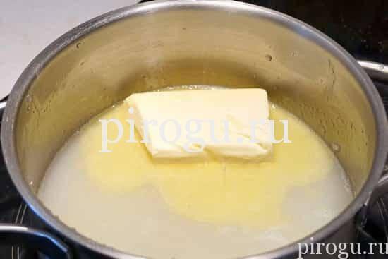 Тесто для молочных коржиков