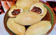 Пирожки с повидлом в духовке из дрожжевого теста: рецепт с фото