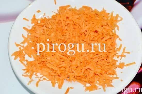 Пирожки с капустой и морковью