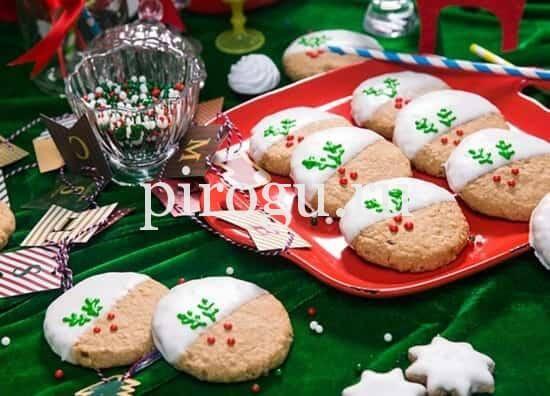 Печенье на рождество и новый год
