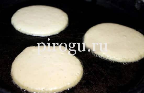 Тесто для панкейков на молоке