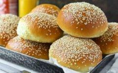 Булочки для гамбургеров с кунжутом: 7 лучших пошаговых рецептов с фото