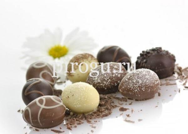 Шоколадные яйца рецепт