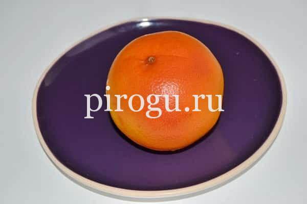 Апельсиновый кулич из дрожжевого теста