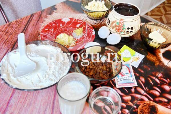 Кулич Краффин с изюмом: пошаговый рецепт