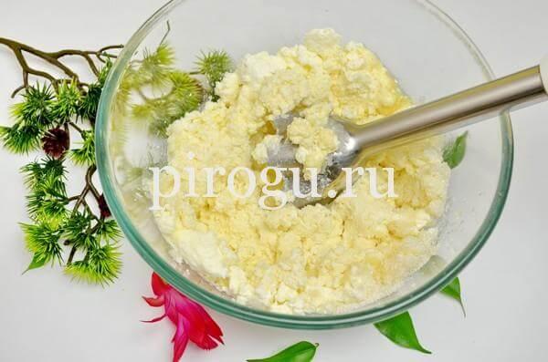 Творожная Пасха с желатином без выпечки: рецепт с фото