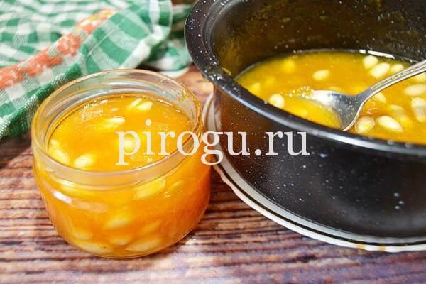Варенье из абрикосов без косточек: очень вкусное в банке