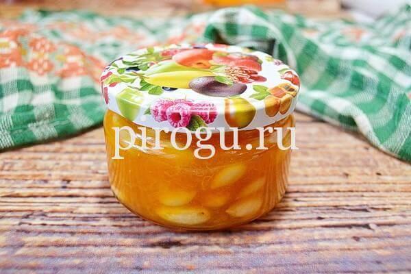 Варенье из абрикосов без косточек: быстрое