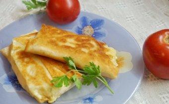 Ленивые хачапури с сыром на сковороде: рецепт с фото пошагово