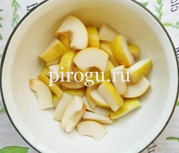 Варенье из груши с прозрачными дольками