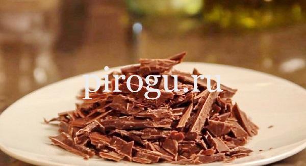Шоколадный торт без муки